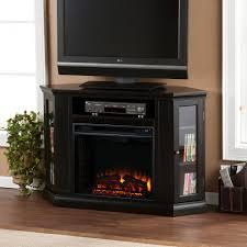 small corner electric fireplace entertainment center ideas