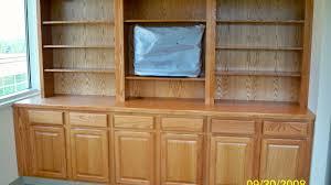 Bookshelf Entertainment Center Custom Oak Bookshelves And Entertainment Center Vaughn Interior