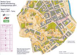 Java World Map by Woc Sprint Women July 1st 2017 Orienteering Map From Gpsseuranta