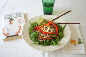 la bonne cuisine de rolande roland garros la salade de soba épicée sans gluten de djokovic