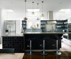 kitchen island with wine storage 5 wine storage ideas for the kitchen contemporist
