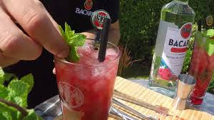 bacardi mojito recipe bacardi cocktail contest finale razz mojito youtube