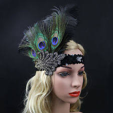 peacock headband peacock feather headband clothing shoes accessories ebay