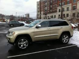 gold jeep cherokee white gold with saddle has arrived here are a few pics jeep
