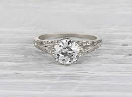 vintage inspired engagement rings edwardian vintage engagement rings 12219