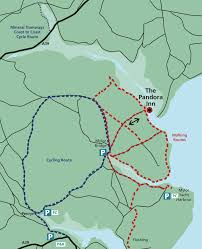 Map My Walk Route Arrive At The Pandora As Part Of Your Circular Walk