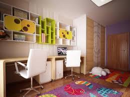 modren kids bedroom desk and chair with storage for small kids bedroom desk
