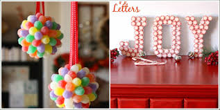 Make Christmas Decorations At Home by 14 Candy Christmas Decorations To Sweeten Your Home