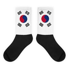 South Korea Flag South Korea Flag Socks U2013 Choose To Rep