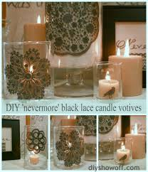 halloween votive candle holders marthahalloween archives diy show off diy decorating and