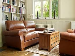 like the wall color with the tan leather sofa house pinterest