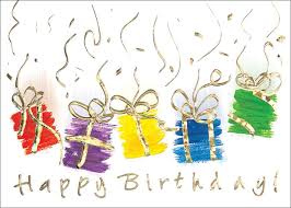 birthday cards and gifts card design ideas
