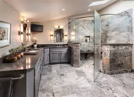 Bathroom With Corner Shower Frameless Glass Shower Doors Bathroom Contemporary With Corner