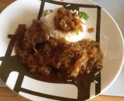 cuisiner de la joue de boeuf joue de boeuf aux oignons recette de joue de boeuf aux oignons