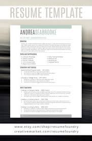 beautiful professional resume template includes three options for