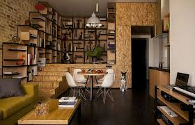 Diy Interior Design by Apartment Inspiring One Room Apartment Interior Design Ideas With