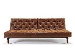 Chesterfield Leather Sofa Bed Chesterfield Sofa Bed Vintage Brown Leather Textile