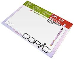 the best paper for copic markers max nash