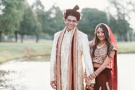 hindu wedding attire traditional hindu wedding attire in velvet maroon and gold