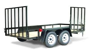 Aluminum Landscape Trailer by Hooper Trailer Sales Small Utility Trailers
