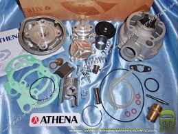 50cc high engine ø40mm athena kit for minarelli am6 aluminum