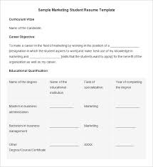 Marketing Intern Resume Sample by Marketing Resume Template U2013 37 Free Samples Examples Format