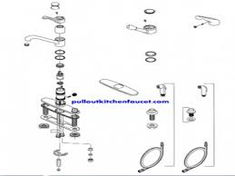 awesome moen single handle kitchen faucet repair diagram interior