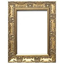 shabby chic style very ornate gold photo frame for 7
