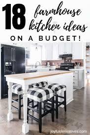 farmhouse kitchen cabinet decorating ideas 18 must haves for decorating a farmhouse kitchen joyful
