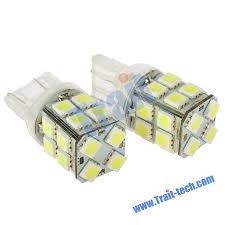 led light bulbs for cars t20 8000k 200lm 20x5050 3w led white light bulbs for car pair 12 14v