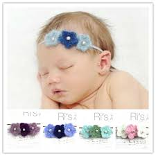 infant hair retail 2014 mohair crochet headband flower knit headband photo