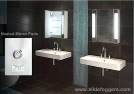 Bathroom Heated Mirrors Bathroom Cabinets Mirrors Psart Co
