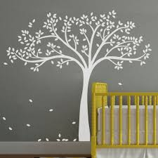 Vinyl Tree Wall Decals For Nursery by Amazon Com Mairgwall Fall Tree Wall Decal Monochromatic Tree