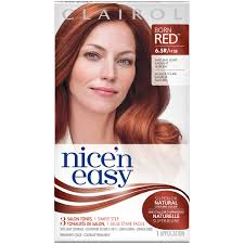 clairol nice n easy natural light auburn clairol clairol nice n easy permanent hair color 6 5r natural light