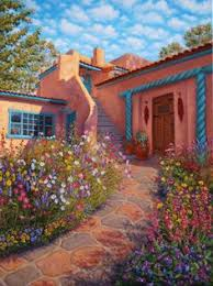Santa Fe Style House Adobe Houses On Pinterest Adobe Homes Tao And Santa Fe Style