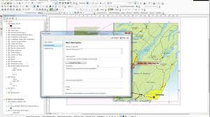 Iu Map Package Maps Empaquetado De Mapas Arcgis 10 4 Youtube