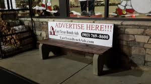 Bench Locations Bench Locations East Texas Bench Ads