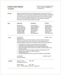 resume templates free download documents converter sle engineering cv template 7 free documents download in pdf
