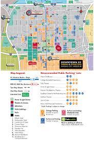 power and light district map downtown kansas city parking map visit kc