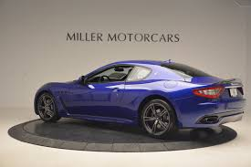 chrome blue maserati 2017 maserati granturismo special edition sport 8 out of 40 made