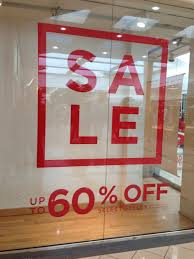 clear clings for glass and window signage