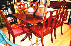 ethan allen dining room set used home designs chairs tables ethan allen dining room set used home designs chairs tables