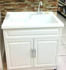 diy utility sink cabinet laundry sink in cabinet progsinfo utility sink with cabinet laundry