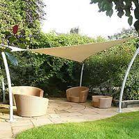 Triangle Awning Canopies Sun Shade Sail 17 U0027 X 17 U0027 X 17 U0027 Triangle Fabric Outdoor Patio