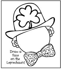 st patrick coloring page exprimartdesign com