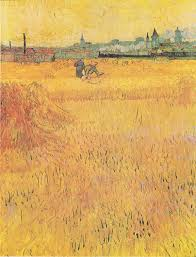 arles view from the wheat fields wikipedia