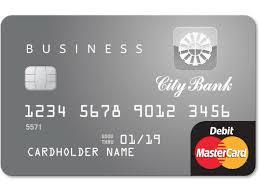 debit card for city bank business debit card