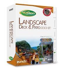 amazon com punch landscape deck u0026 patio designer with nexgen