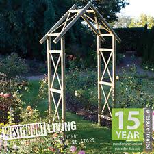 wedding arches ebay wooden garden arch