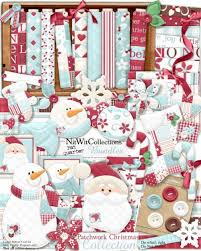 christmas collections fqb patchwork christmas collection nitwit kits nitwit